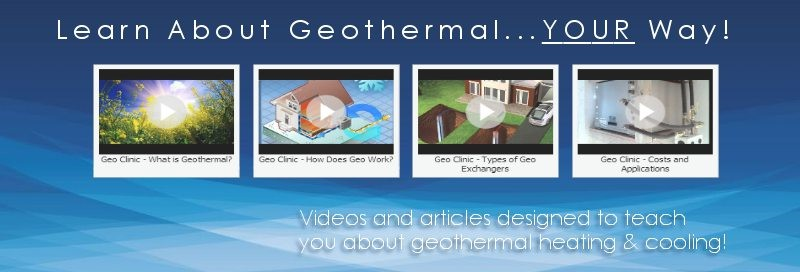 24/7 Geothermal Clinic!